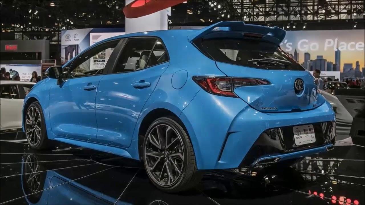 Wow 2019 Toyota Corolla Hatchback 2018 New York Auto Show Youtube