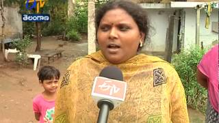 Political People Targeting NSP Camp Office In Khammam