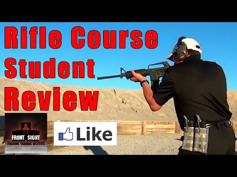 Rifle Course Student Review-4 Day Rifle Course Review-Front Sight Student Review-Rifle Course Review