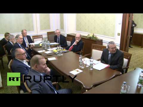 Belarus: Trilateral Contact Group agree to withdraw arms under 100mm