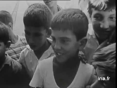 Juifs d'Algerie installés à Ashdod, en Israël,