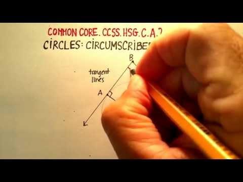 Circles: Circumscribed Angles