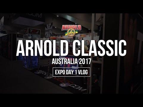 Arnold Classic Australia 2017 Expo Day 1 | RAW VLOG 17 Mar 2017 | MassiveJoes.com