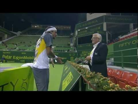 Lukasz Kubot vs Feliciano Lopez Qatar ATP Tennis Open [Round 1 01/01/13]