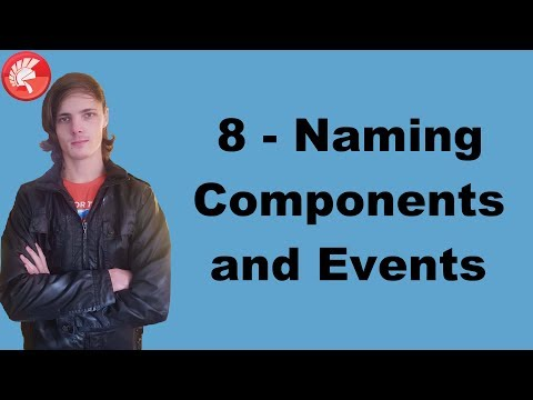 Delphi Programming Course (FMX): 8 - Naming Components and Events