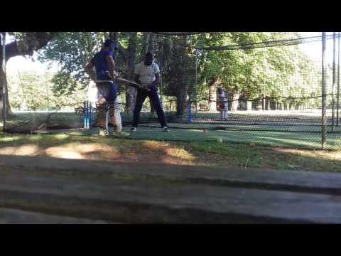 Antwerp cricket club nets training