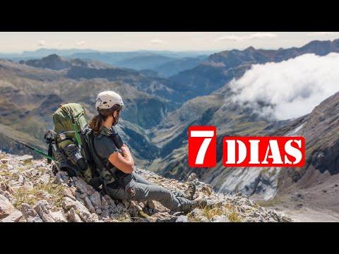 7 Días De Vivac En La Montaña - Travesía Por Pirineos