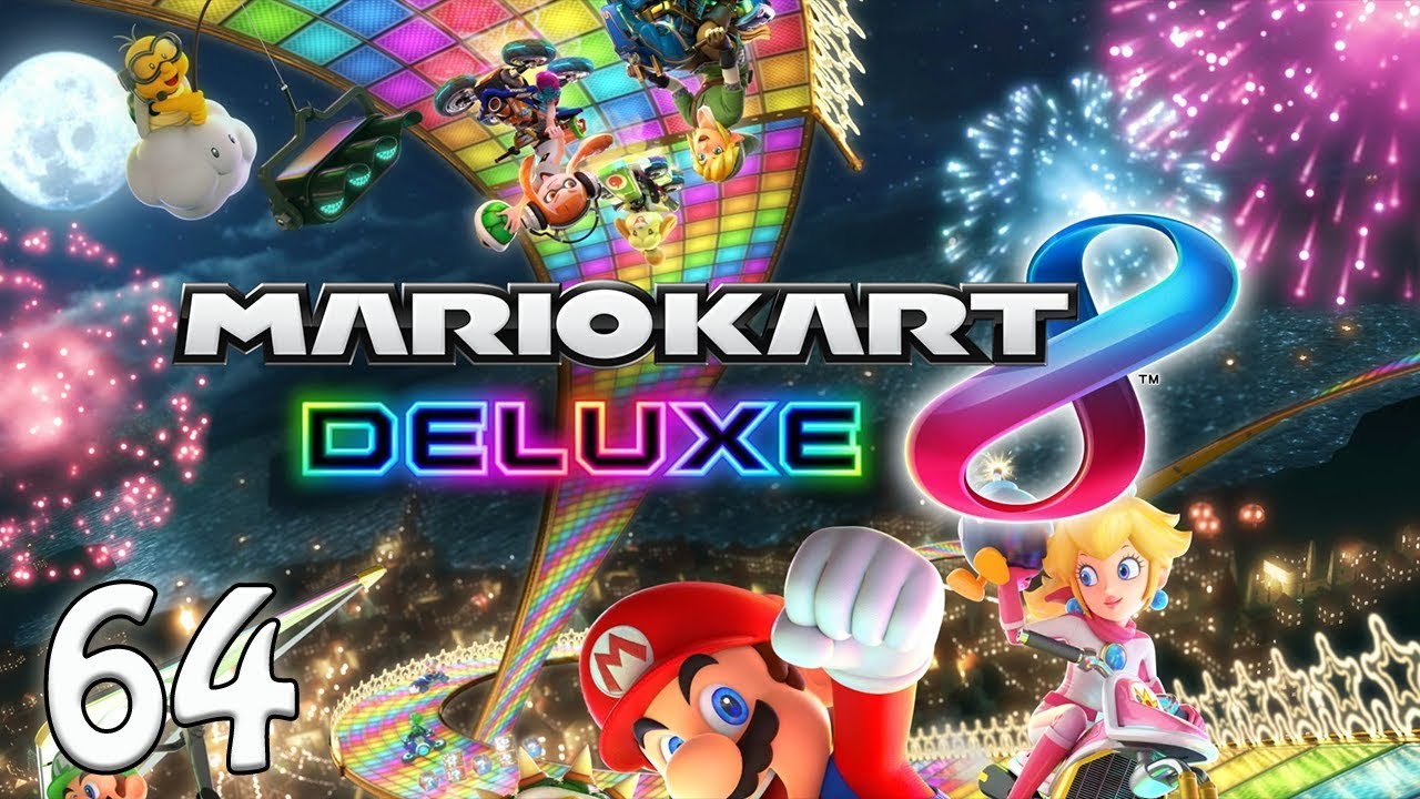 Mario Kart 8 Deluxe E64 Wee Wees Youtube