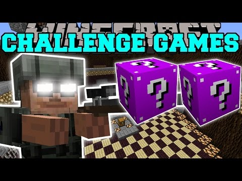 Thumbnail: Minecraft: ARMY SOLDIER CHALLENGE GAMES - Lucky Block Mod - Modded Mini-Game