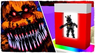- COMO HACER UN PORTAL A LA DIMENSI N DE FIVE NIGHTS AT FREDDY S ESPECIAL HALLOWEEN MINECRAFT