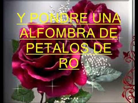 20 ROSAS ''LETRA''  LOS ANGELES AZULES