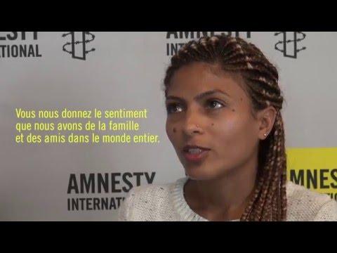 Interview d'Ensaf Haidar, épouse de Raif Badawi