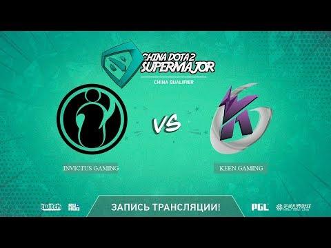 Invictus Gaming vs Keen Gaming, China Super Major CN Qual, game 1 [Lex, 4ce]