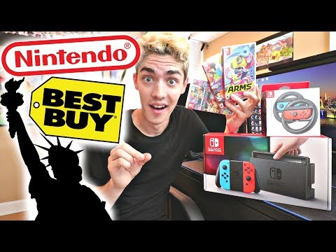 I'M WORKING WITH NINTENDO & BEST BUY!! (THEY'RE FLYING ME TO NEW YORK!)