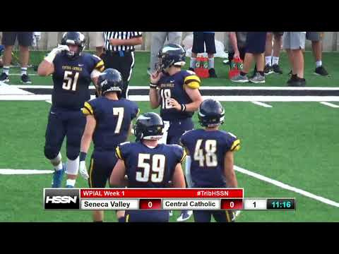 WPIAL Football - Seneca Valley vs Pittsburgh Central Catholic