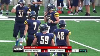 WPIAL Football - Seneca Valley vs Pittsburgh Central Catholic