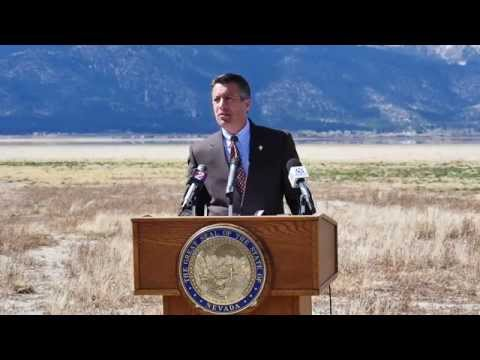 Nevada Drought Forum Press Conference 4.8.15