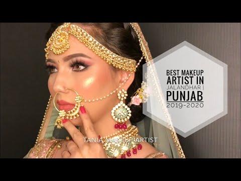 BEST BRIDAL MAKEUP BY TANIA MAKEUP ARTIST | BEST MAKEUP ARTIST | JALANDHAR | PUNJAB | 2019 - 2020 thumbnail