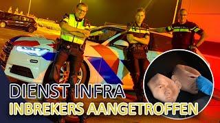 Politie   Controle inbrekers, spookvoertuig in beslag genomen   Dienst INFRA Noord West