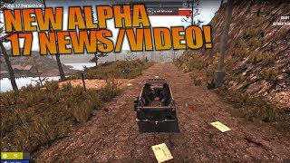 NEW ALPHA 17 NEWS/VIDEO! | 7 Days to Die Let's | Play Gameplay Alpha 16 | S16.4E62