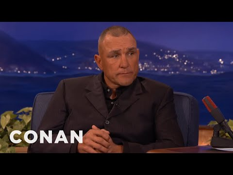 Vinnie Jones' Tipsy RunIn With Queen Elizabeth   CONAN on TBS