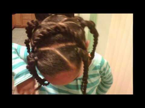 Mixed Chicks Children S Hairstyles Part 1 Youtube