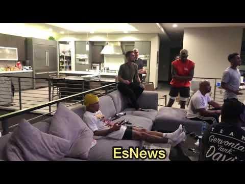 Boxing Superstar Gervonta Davis Reaction to hearing the Lomachenko vs a Lopez Score Cards
