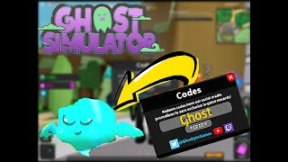 1 CODE for ghost simulator ROBLOX
