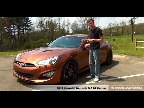 Review 2013 Hyundai Genesis 3.8 Coupe