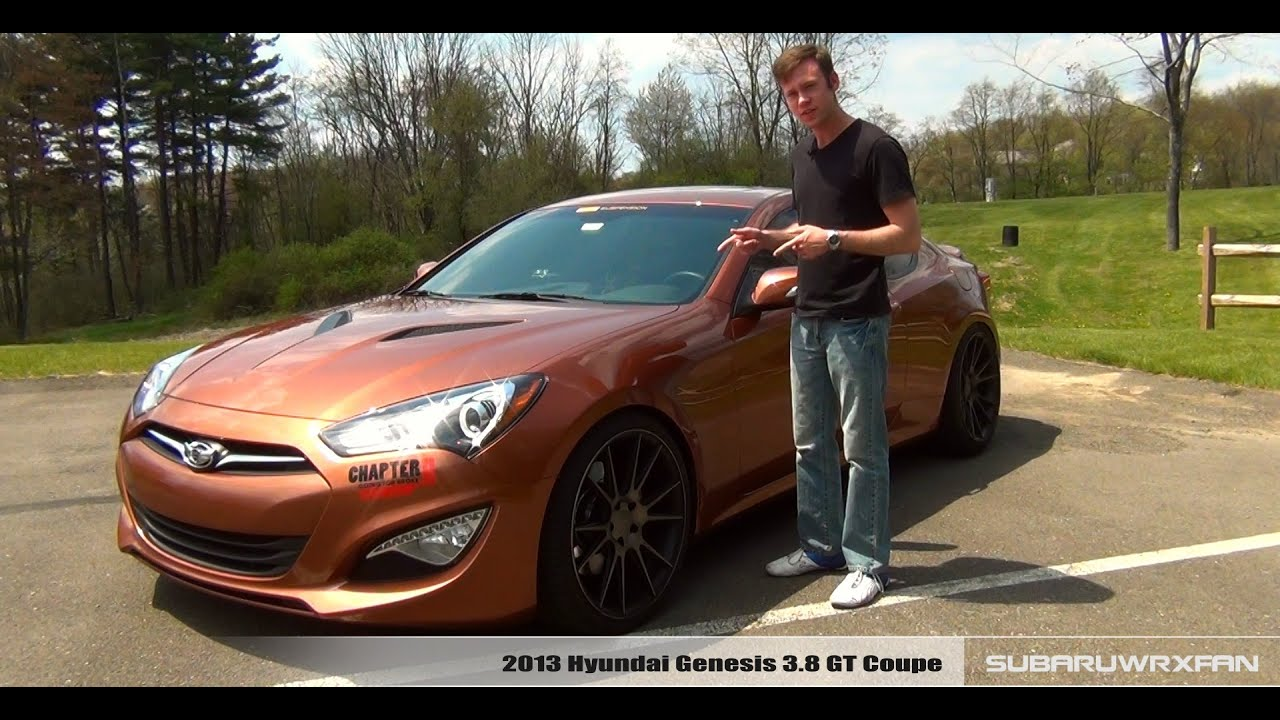 Review: 2013 Hyundai Genesis 3.8 Coupe - YouTube