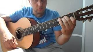 Испанская коррида на гитаре.Урок