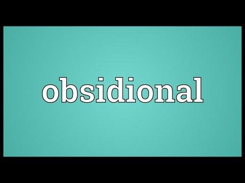 Header of obsidional