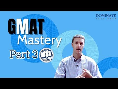 Gmat Mastery Pt