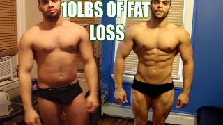 Current Body Progress After 10lbs of Fat Loss