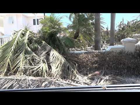 W. Ocean Dr. in Key Colony Beach, Florida Keys Post Hurricane Irma