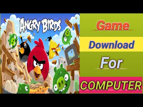 How To Download Angry Bird Game For Pc Free...