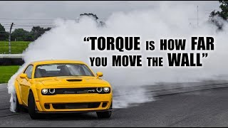 Torque Is NOT How Far You Move The Wall