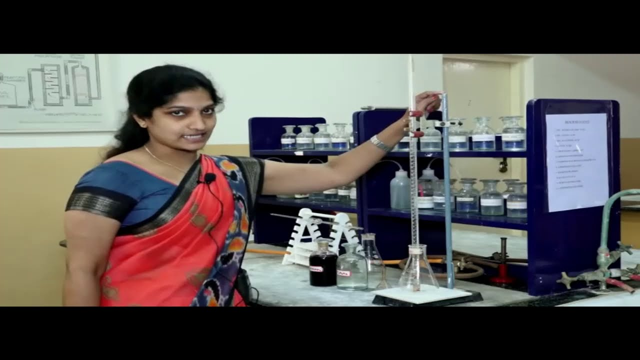II PUC   CHEMISTRY PRACTICAL   TITRATION - 02