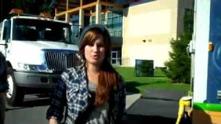 Debby Ryan rapping (Greatness Calling)
