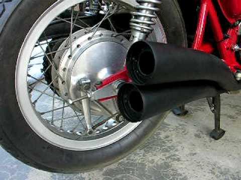 Mufflers 4 Less >> Classic Cycle City Hand made 4-4 mufflers / exhaust Honda CB750 SOHC - YouTube