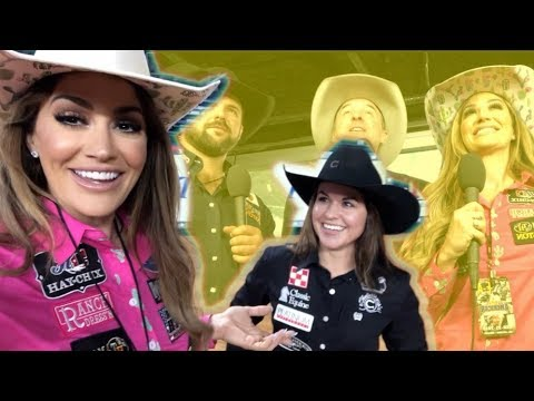 COMMENTATING THE WORLDS RICHEST RODEO!!