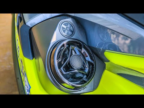 How to install Sea Doo BRP Premium Audio System on 2018 RXT X