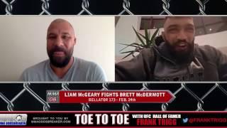 Frank Trigg Interviews Bellator 173's Liam McGeary