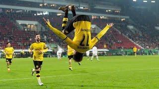 Audameyang's three goals || best 3 goals in bundesliga || 2017 to 2018.
