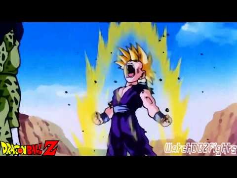 Gohan Turns Super Saiyan 2 Against Cell
