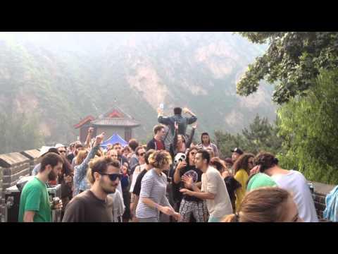 Thomas Futoso @ Yinyang Music Festival 2015 Great Wall China 5am Part 2
