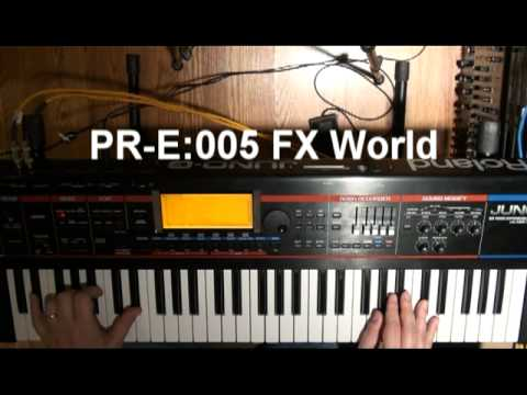 Roland Juno-G SYNTH demos (2 of 2)