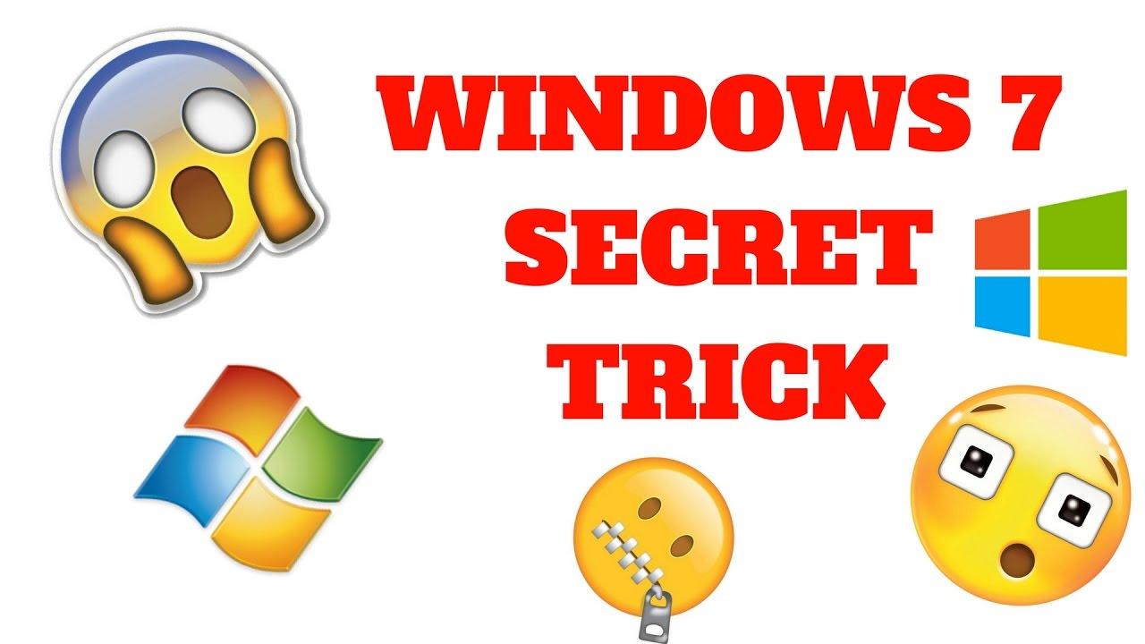 Windows 7 Secret Trick