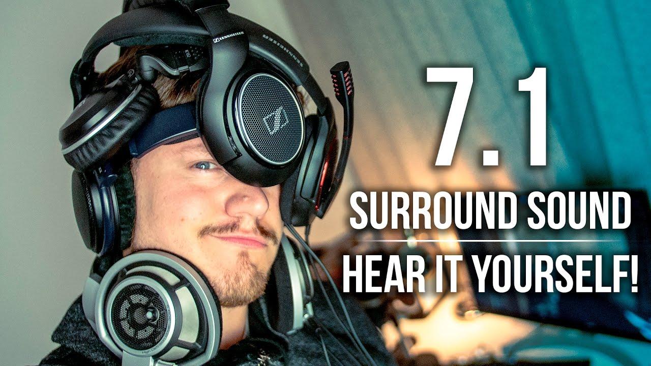 7.1 Surround Sound - HEAR IT YOURSELF! - YouTube