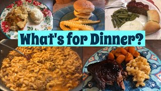 What's for Dinner?  Family Meal Ideas  #11